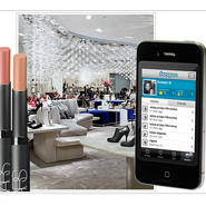 Saks taps mobile at its locations