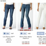 Retailers such as Levi's have integrated the Like button, though luxury brands largely have not