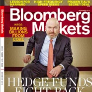 Bloomberg Markets relaunched with the November 2010 issue