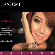 Lancome is the lead luxury brand in digital marketing