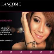Lancome is the lead luxury brand in digital marketing