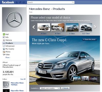 mercedes-facebook