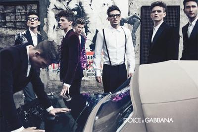 Men's winter 2012 campaign shot