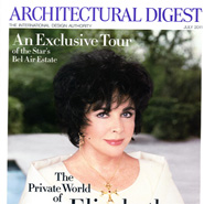 Architectural digest celebrity homes 1977 calendar