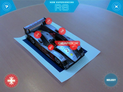 Audi uses augmented reality for driving game