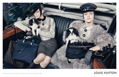 Louis Vuitton Fall/Winter 2011 campaign