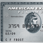 Mercedes benz partners with american express for lifestyle for Mercedes benz platinum card