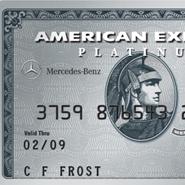 Mercedes Benz Platinum Card