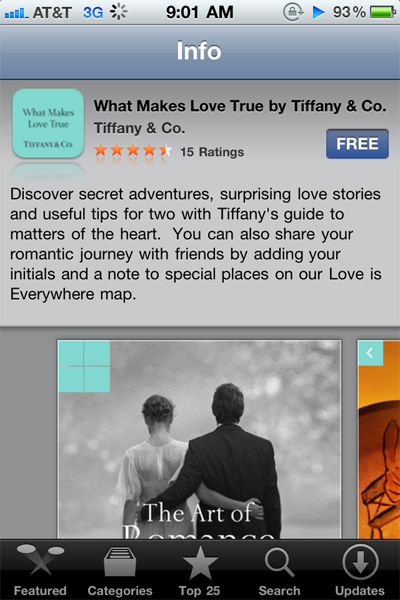 tiffany-app-in-store