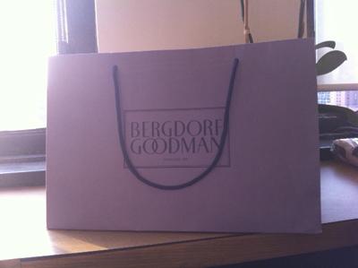 Bergdorf's shopping bag