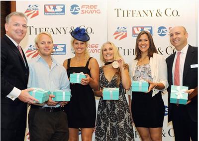 Tiffany's iconic blue boxes