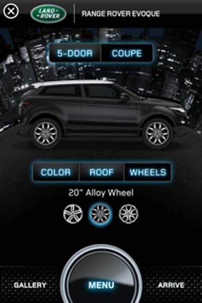 Range Rover Evoque Accessories