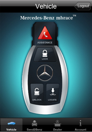 Mercedes leverages app update to secure technology for Mbrace mercedes benz