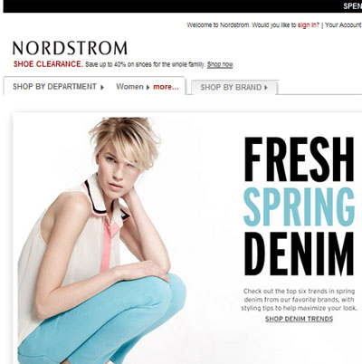 Nordstrom tops customer experience rankings: study - Luxury Daily ...