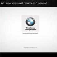 Мобильная реклама BMW