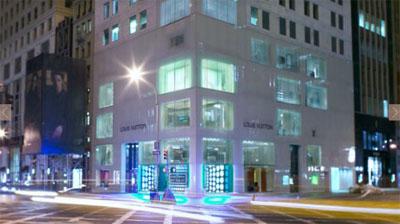 Louis Vuitton NY flagship
