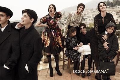 Dolce Gabbana fw 12