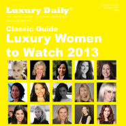 Luxury Daily's Luxury Women to Watch 2013