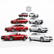 Luxury daily for Mercedes benz winter event commercial