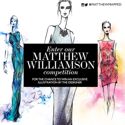 Net a porter mobilizes matthew williamson 15th anniversary for Net a porter