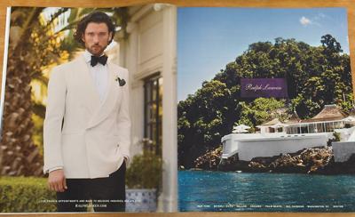 Ralph Lauren, Armani tap double exposure ad trend in WSJ. Magazine - Luxury Daily - Print