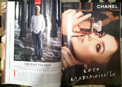 Chanel Gucci Target Vanity Fair Readers With Celebrity Ambassadors Luxury Daily Print