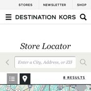 Pandora Shop Locator