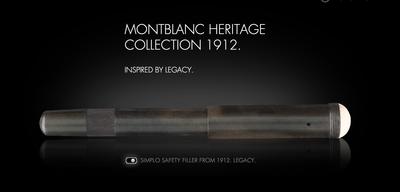 montblanc fountain pen