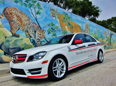 Mercedes benz continues mission to teach responsible for Mercedes benz driving school los angeles