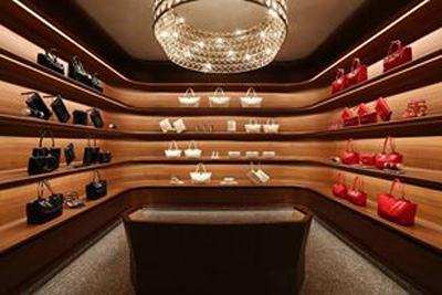 Valentino Shanghai flagship interior