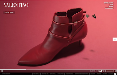 Valentino Rouge Absolute Signature video