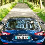From Maserati Ghibli app