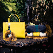 The Coveteur image featuring Elizabeth Stewart's Fendi bags