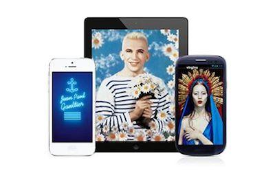 Jean Paul Gaultier app Barbican promo