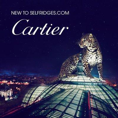 Cartier and Selfridges FB