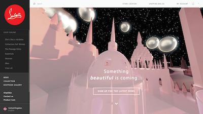 Christian Louboutin Beauty Web site