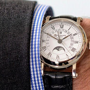 Christie's is an old hand with watches