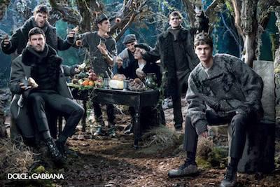 Dolce Gabbana fw2014 campaign