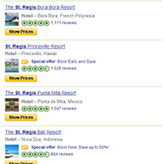 Search results for St. Regis on TripAdvisor