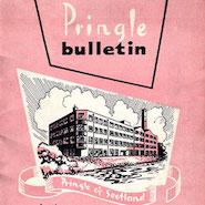 Cover of vintage Pringle Bulletin