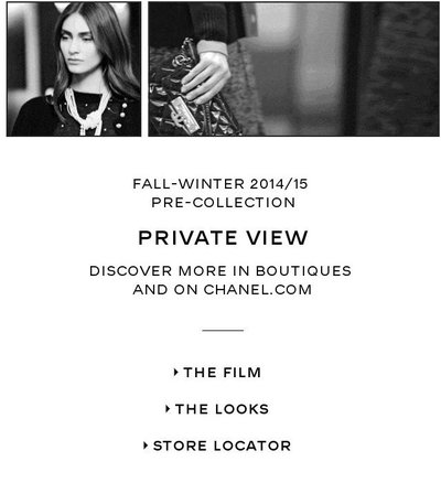 chanel email 1