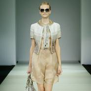 Look from Armani spring/summer 2015 show