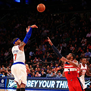 Luxury daily carmelo anthony taking a jump shot for the knicks voltagebd Choice Image