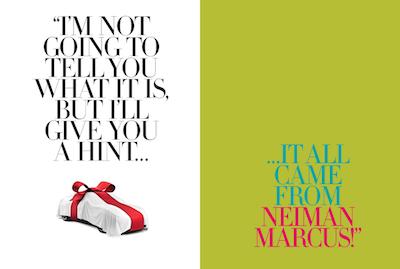 Neiman Marcus Christmas Book.Luxury Daily