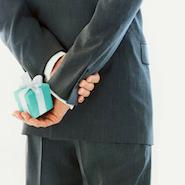 Image of the iconic Tiffany & Co. box