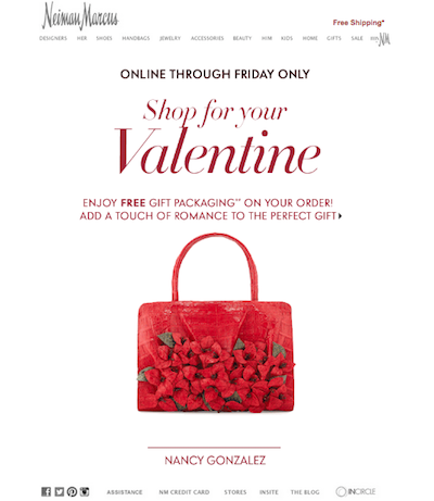 ... prompt ecommerce gifting with digital Valentine's Day efforts
