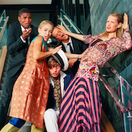 Models pose in image from spring 2015 campaign