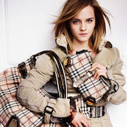 Burberry  campaign starring Emma Watson