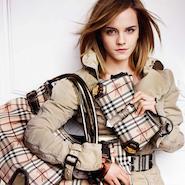 Burberry  campaign starring Emma Watson
