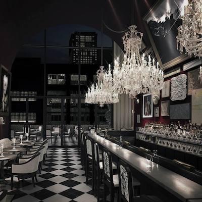 Baccarat Hotel NY bar